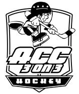 ACC 3 on 3 Black and White