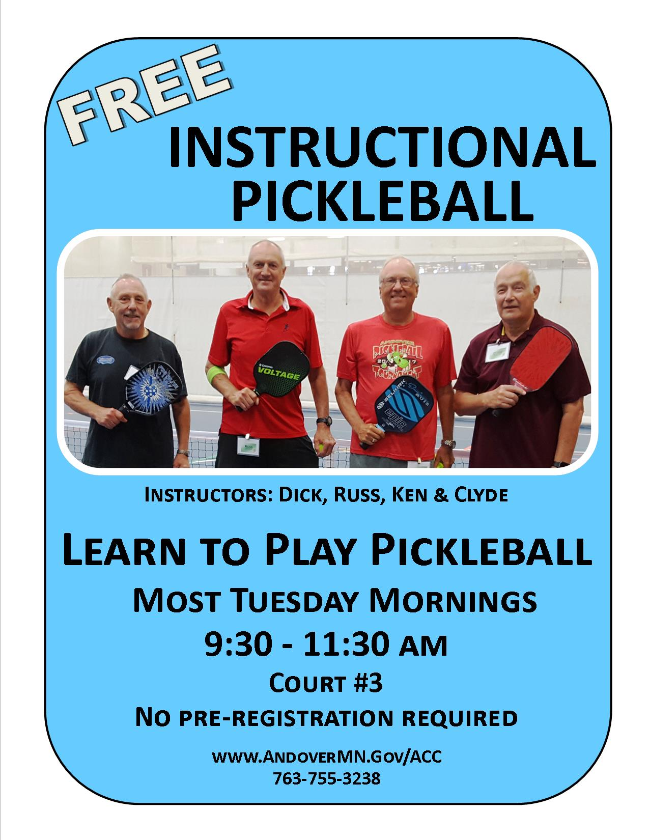 Instructional Pickleball