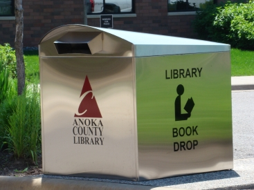 Library Book Drop Box