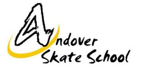 Andover Skate School Logo Black